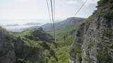 View From Cable Car Go Down From Kankakei Gorge at Shodoshima Island, Japan - 208465050