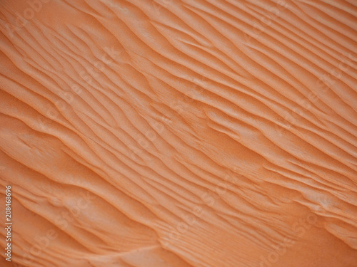 Sand in the desert. Abstract dune background.  © Ulia Koltyrina
