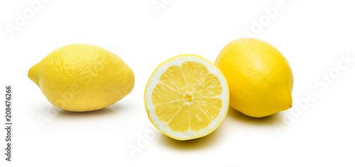 Fotobehang Sap Zitronensaft