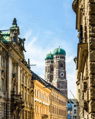 Słynna katedra w Monachium - Liebfrauenkirche
