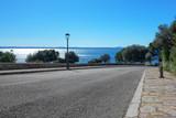 Straße zum Meer auf Mallorca