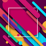 Vinous background with bright abstract colorful pattern.