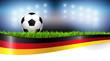 Leinwanddruck Bild - Fussball Deutschland 2018
