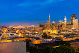 San Francisco downtown skyline - 208494238