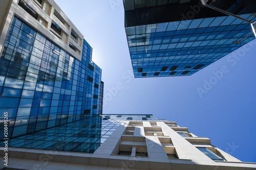 Modern corporate building in Bucharest - 208495265