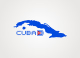 Flat Cuba icon