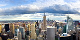 New york skyline and Manhattan panoramic view - 208511853