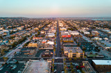 Aerial view of California houses - 208513446