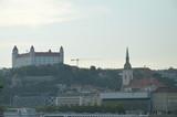 Bursztynowym szlakiem Słowackim -Bratysława panoramy