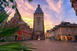 Leinwanddruck Bild - Speyer am Morgen