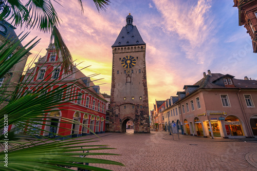 Leinwanddruck Bild Speyer am Morgen