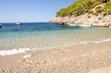 beach and sea in croatia, cristal water of croatia's seaside during summer,  dalmatia. - 208531211