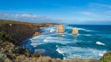 The Twelve Apostles located in Port Campbell, Victoria © abdrahimmahfar