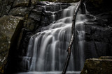 Waterfall Cascading Over Stone