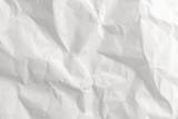close up crumpled white paper texture and background - 208574641