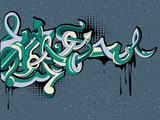 Graffiti arrows background - 208584064