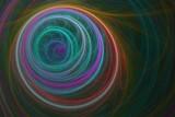Leuchtender Tunnel aus Rauch - Fantasie  - 208584820