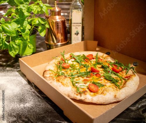 Fotobehang Pizzeria Pizza ToGo   Pizzeria Lieferdienst   Restaurant Lieferservice