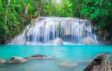 Erawan Waterfall in Thailand - 208593230