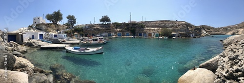 Port de pêcheurs de Mandrakia