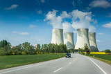 Nuclear power plant in Czech Republic. Europe. - 208638010