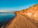 Davey's Bay beach at sunset - Mornington Peninsula, Victoria, Australia - 208639675