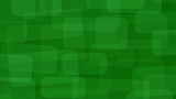 Abstract background of translucent rectangles with rounded corners in green colors - 208648230