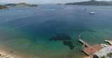 Torba Bay and Anchored Yachts, Bodrum Turkey - 208649651