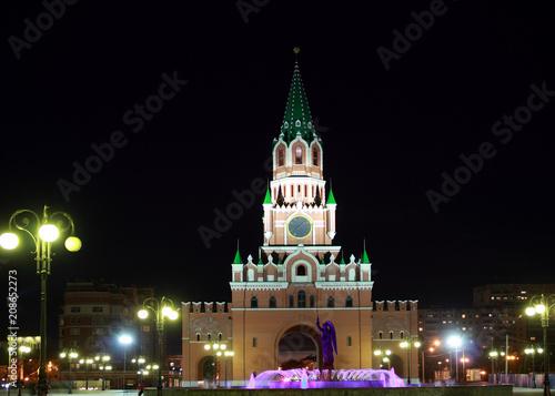 Fotobehang Brugge Russia, Yoshkar-Ola. Tourism in Russia