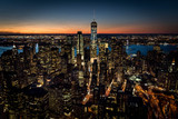 Downtown Manhattan Skyline
