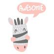 awesome zebra