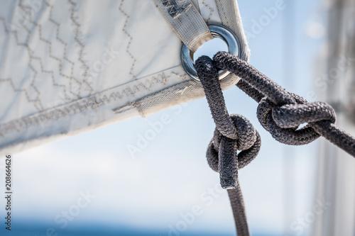 Fotobehang Zeilen rejs żeglarstwo tło