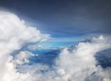 White clouds in blue sky - 208665255