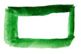 Green frame on white background - 208665271