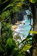 Napali Coast through the trees
