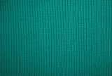 Green knitted fabric background texture - 208692212