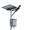 Solar Street Light on isolated background. - 208713292