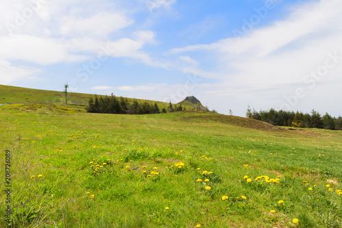 Fotobehang Landschappen Landscape French Auvergne Massif du Sancy
