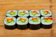 Vegetarian maki roll