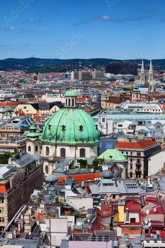 Fridge magnet Vienna City Cityscape In Austria