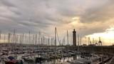 Timelapse du port de Sète au lever du jour, Occitanie, France - 208732260