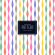 colorful ribbon style birthday pattern background - 208733262