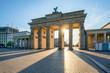 Leinwanddruck Bild - Brandenburger Tor in Berlin, Deutschland