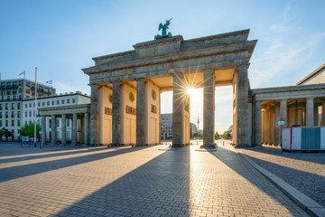 Brandenburger Tor in Berlin, Deutschland © eyetronic