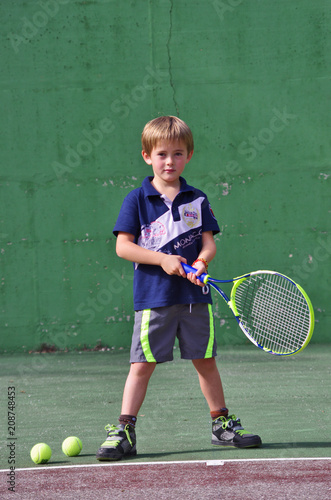 Aluminium Tennis tennis - jeune joueur