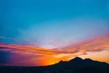 Sunset mount Beshtau