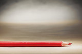 One Red Wooden Pencil - 208755060