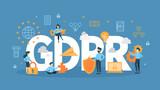 GDPR concept illustration.