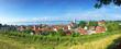 Aussicht auf Meersburg am Bodensee - Panoramaaufnahme