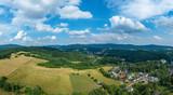 Der Odenwald vor Bensheim